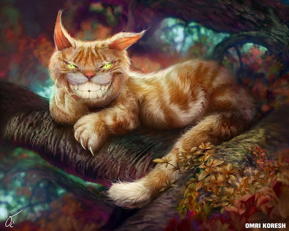 Cheshire cat, Original