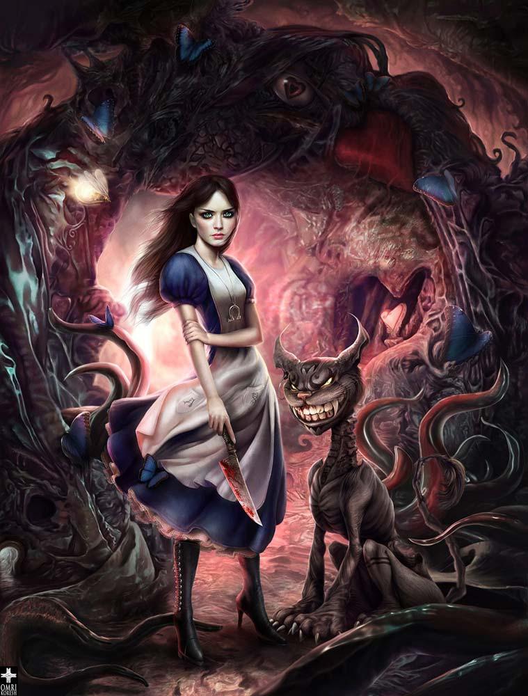 Dark Wonderland, Alice madness returns, American Mcgee's alice