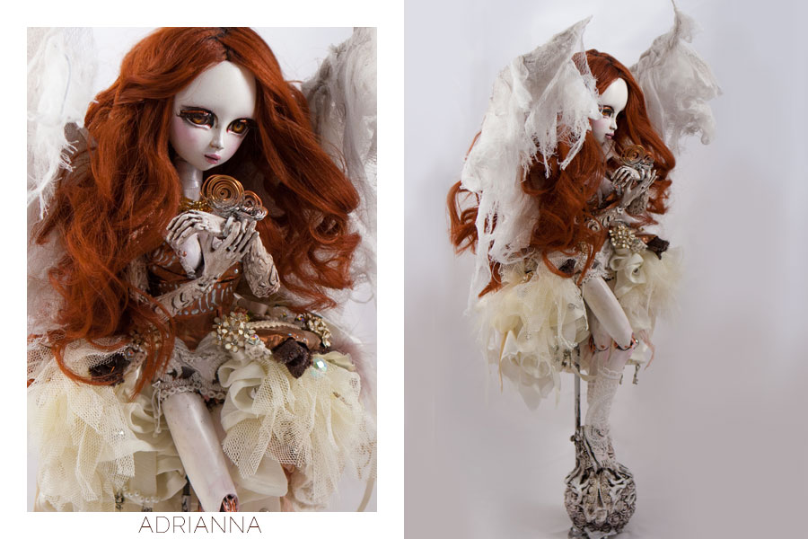 sculpture, adrianna 2016, doll, art, artist, omri koresh