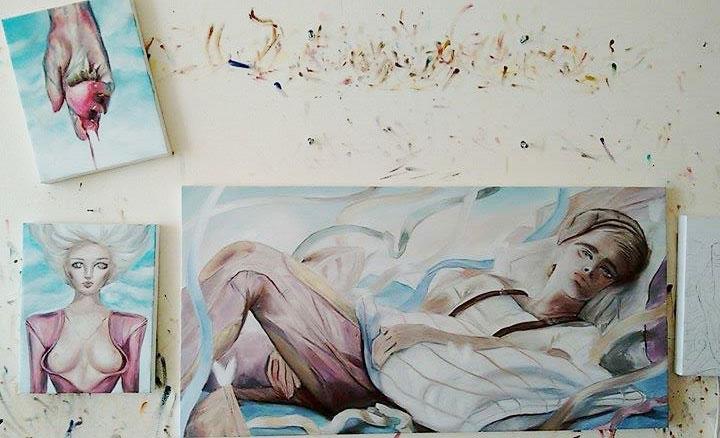 nuerva, paintings