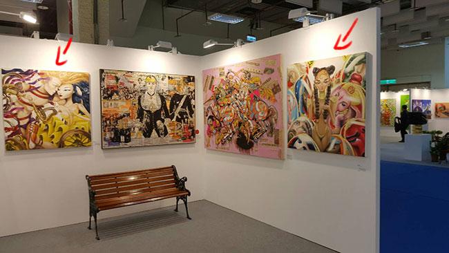 updates, orly dvir gallery, Omri koresh