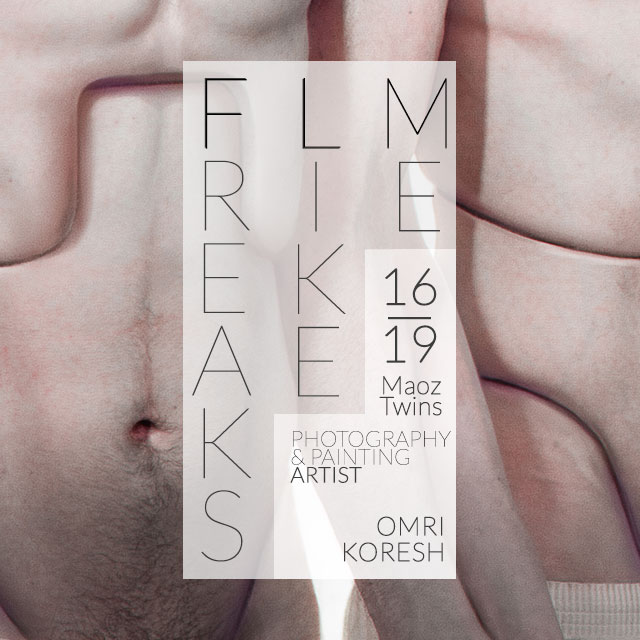 new, solo exhibition, artist, freaks like me