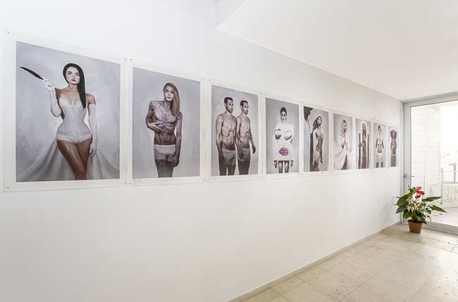 post gallery, freaks like me, orly dvir gallery, omri koresh