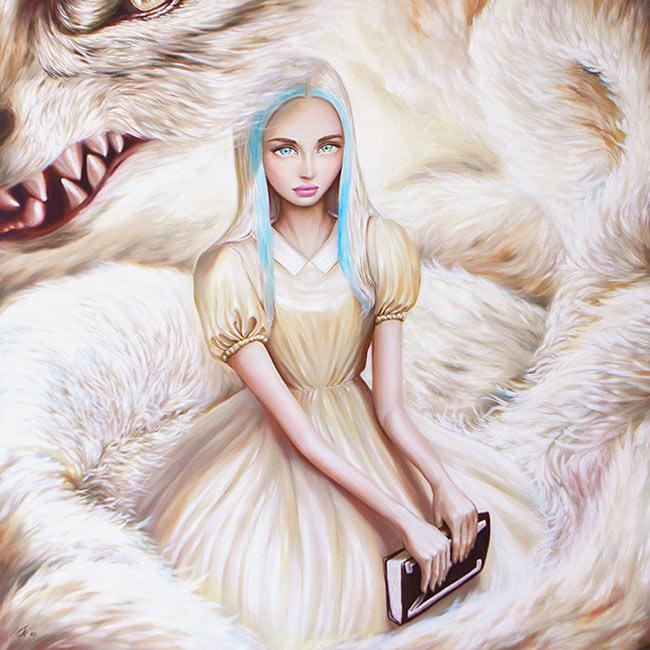 Nuerva, art book, fantasy, book, art, omri koresh, cover