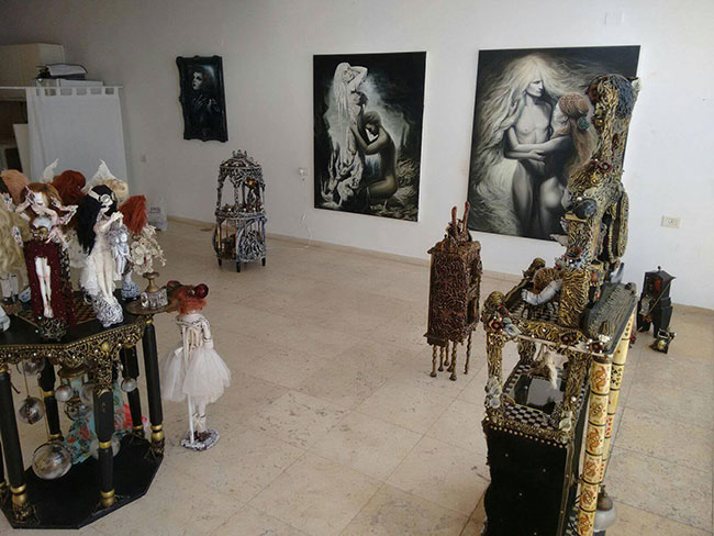 Orly Dvir Gallery signup.