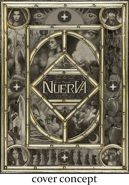 updates, nuerva, concept, cover, art