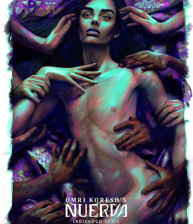 israel, nuerva, omri koresh, painting, orgy, art, digital art, painter, amazing, art book