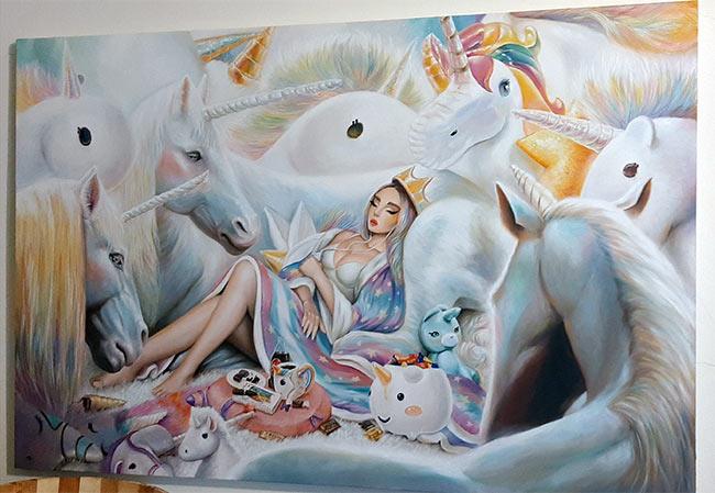 omri koresh, art, digital art, oil painting, sketching, artist, author, omri koresh author, the black city of Nuerva, alice 3, alice asylum, alice madness returns, american mcgees alice, hd pack, unicorns
