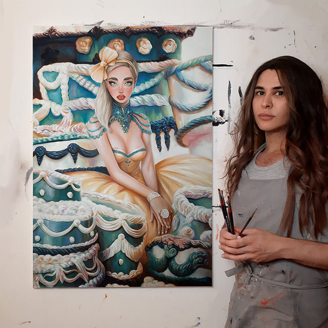 omri koresh, painting, author, artist, omrikoreshart