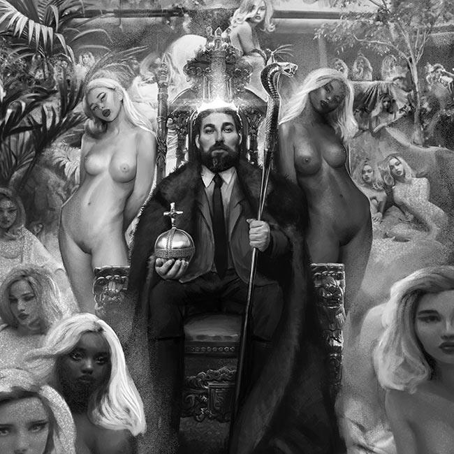 black city of nuerva, omri koresh, art director, comic, free to read, dark goth