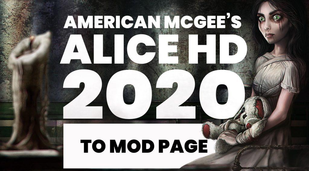 omri koresh, nexus mods, alice 2020 hd, american mcgee's alice hd