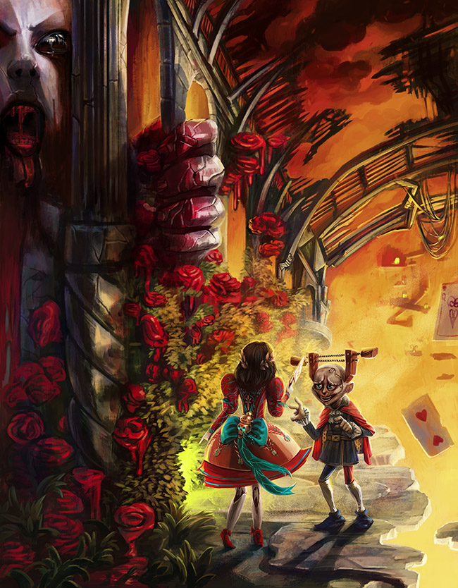 alice asylum, omri koresh, omrikoreshart, art director, omri koresh author, insane child, knave, knave of hearts, art director