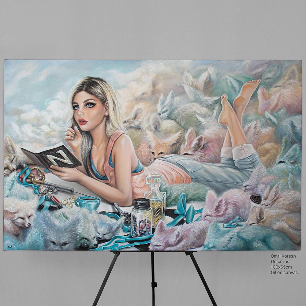 omri koresh, omri koresh author, art director, nuerva, black city, alice madness, alice asylum, american mcgee, sexy paintings, oil painting, alice in wonderland