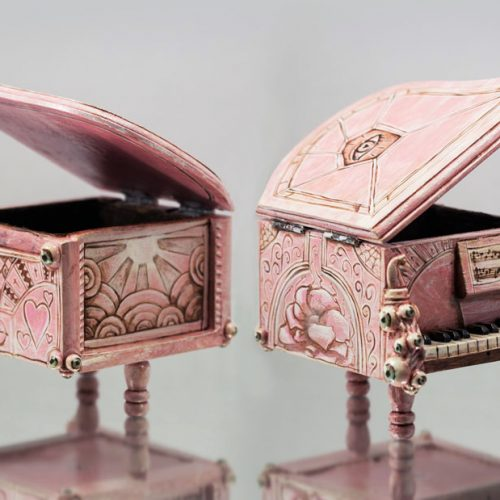 Pink Piano (Sold)