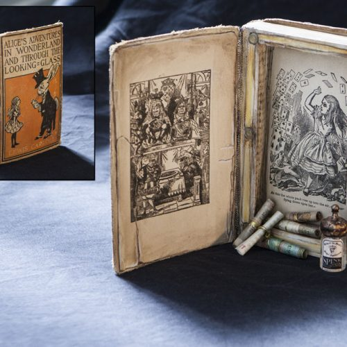 aliceinwonderland bookbox